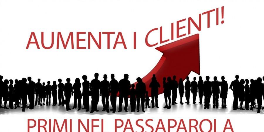 Aumenta i tuoi clienti